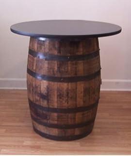 Amazoncom Ant Mollys Barrels White Oak Whiskey Barrel Table Pub