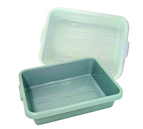 Update International BB-5G Tote Box 15.25x20.5x5in Gray, Polyetheline