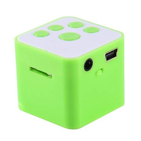 Amazon.com: Splendidsun - Altavoz pequeño cuadrado portátil ...