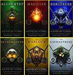 A Complete Michael Scott's The Secrets of the Immortal Nicholas Flamel Series (The Alchemist Immortal Secrets Of Nicholas Flamel)