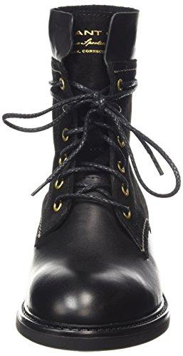 GANT Lydia - botas de cuero mujer negro - Schwarz (black  G00)