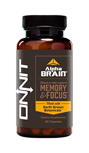 Onnit Alpha BRAIN Nootropic to Improve Brain Function,30 Count