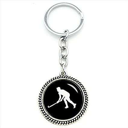 Amazon.com : Key Chains - 2017 New Men Keychain ice Hockey ...