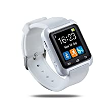 Smart Watch U80 Bluetooth Wrist Watch Pedometer Anti-lost Reminding U Watch for IOS and Android Cell Phones