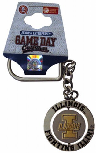 NCAA Illinois Fighting Illini Keychain Relief ()