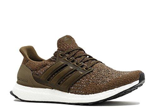 adidas Men's Ultraboost Running Shoe, Olive/Trace Khaki, 10.5 Medium - Shoes Army Adidas