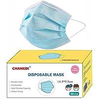 Mascarilla infantil desechable Se Envía desde España 50 Unidades Protección Facial Higiénicas 3 CAPAS Pack de 50…