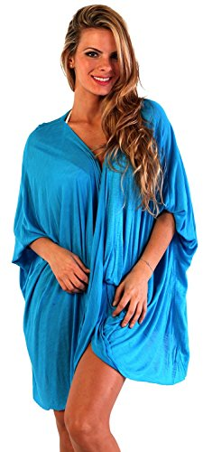 Ingear Draped Poncho Azul