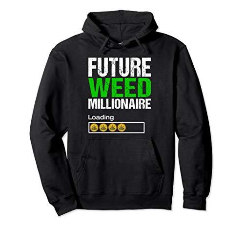 412fnTJJhSL - Marijuana Stocks Shirt Funny Weed Cannabis Investor Gift Pullover Hoodie