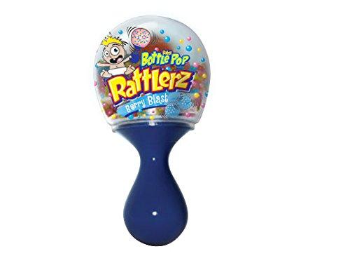 Bazooka Baby Bottle Pop Rattlerz, 1.34 Ounce (Pack of 14)