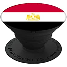 Flags of the World Apparel Co. Egypt Flag PopSockets Stand for Smartphones and Tablets