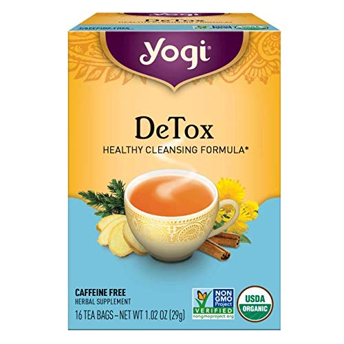 Yogi Herbal Tea Bags, Detox 16 ea