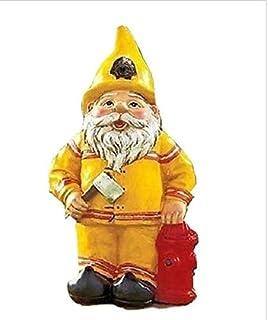 Fireman Novelty Gnome Statue