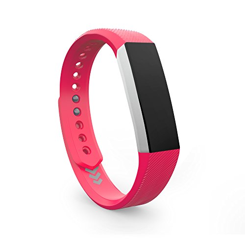 Teak - Small Pink Replacement Band for Fitbit ()