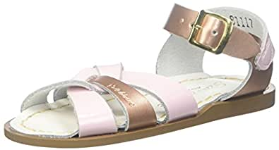 Salt Water Sandals Unisex-Child The Original K The Original Salt Water Flat Sandal - K Multi Size: 3 M US Infant