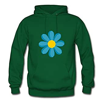 Blue Flower Miltoncurtis Sweatshirts Custom-made Women Different Green