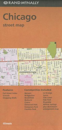 Download Rand McNally Folded Map: Chicago Street Map (Red Cover) PDF