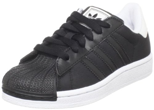 Adidas Originals Kids' Superstar Fashion Sneaker,Black/Black