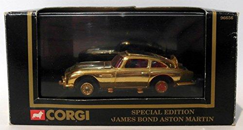 Corgi JAMES BOND ASTON MARTIN DB5 24K Gold Plated Diecast ()