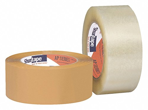 Polypropylene Carton Sealing Tape, Acrylic Adhesive, 48mm X 100m, 36 PK by SHURTAPE