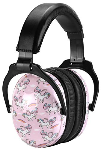 ZOHAN 030 [Upgraded] Unicorn Ear Protection for Toddlers to Teens, Professional Noise Reduction Ear Defenders