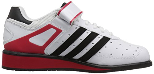 adidas Performance Herren Power Perfect II Cross Trainer Lauf Weiß Ftw / Schwarz / Strahlend Rot