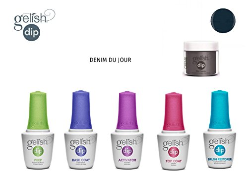 Gelish Dip Powder Starter Kit DENIM DU JOUR