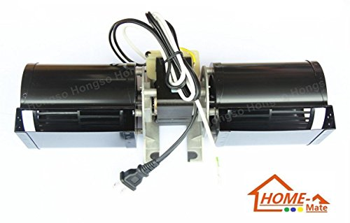 Hongso GFK-160 GFK-160A GFK160 Replacement Fireplace Blower UNIT, for Heat N Glow GFK-160A; Regency Wood Stove Insert 846515; Royal GFK-160; Jakel; Rotom # R7-RB168B (New)