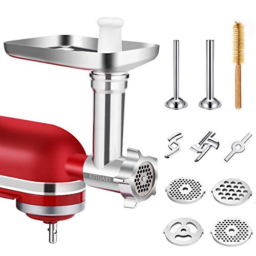 Metal Food Meat Grinder Attachme...