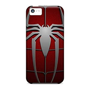Durable Protector Case Cover With Spiderman Hd Hot Design For Iphone 5c