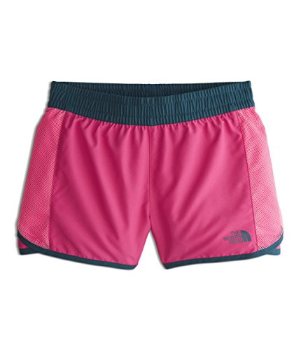 The North Face Girl's Class V Water Shorts - Petticoat Pink & Medallion Phantom Print - ()