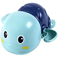 Baby Bath Toys for 1 Year Old ,Tortoise Swimming Floating Wind-up Bathtub Pool Water Toys Kids Bathing Toy for Toddler…