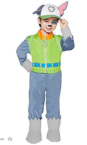 Nickelodeon Paw Patrol Rocky Boys Child Halloween Costume 5-6
