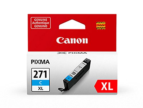 (Canon CLI-271 XL Cyan Ink, Compatible to)