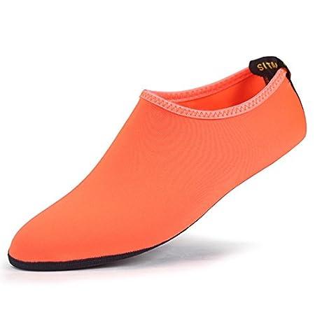 Aubess confortable respirant Chaussettes de plongée Scuba à séchage rapide de coffre Chaussures antidérapantes Chaussettes de plongée étanche Sports Chaussettes de plage