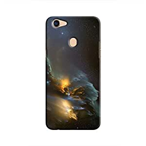 Cover It Up - Gold and Silver space Cloud F5 Hard case