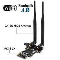 M.2(NGFF) Wireless Card, Wireless Card M.2(NGFF)to PCI-e 1X Adapter