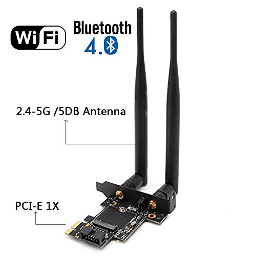 10 best pci wifi card bluetooth for 2018 | Top rated Techs
