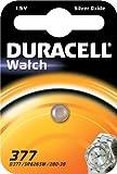 """DURACELL Pile oxyde argent """"Watch"""" 377/SR66 1,5 Volt"""
