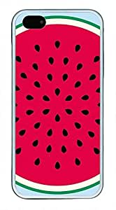 watermelon Pattern Theme Iphone 5 5S Case TPU Material wangjiang maoyi