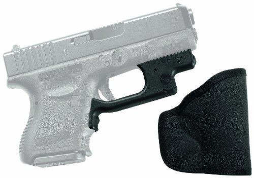Crimson Trace LG-436 Laserguard Red Laser Sight for GLOCK Subcompact Pistols with Holster
