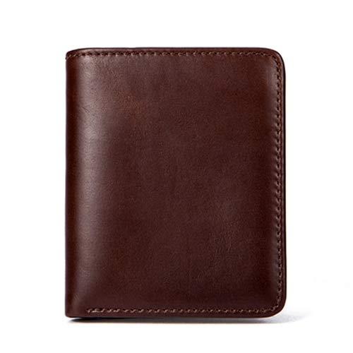 bd00b28aebef Amazon.com  Westal Genuine Leather Men Wallets Credit   Id Holder Purse  Short Wallet with Coin Pocket Coin Purse Men s Leather Wallets Men  Cell  Phones   ...
