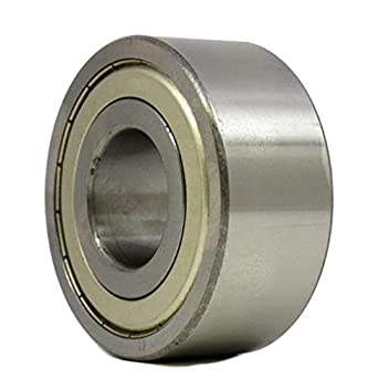 Mechanical Equipment 6203Z Dual Metal Shield Deep Groove Ball Bearing