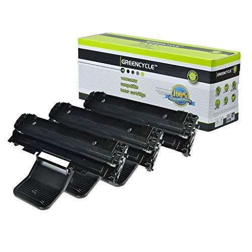 - GREENCYCLE Compatible SCX4521 Laser Toner Cartridge Replacement Samsung ML-1610 ML-1615 ML-1620 ML-1625 ML-1625R ML-2010 ML-2010R ML-2015 ML-2510 ML-2570 ML-2571N Printers (Black, 3 Pack)