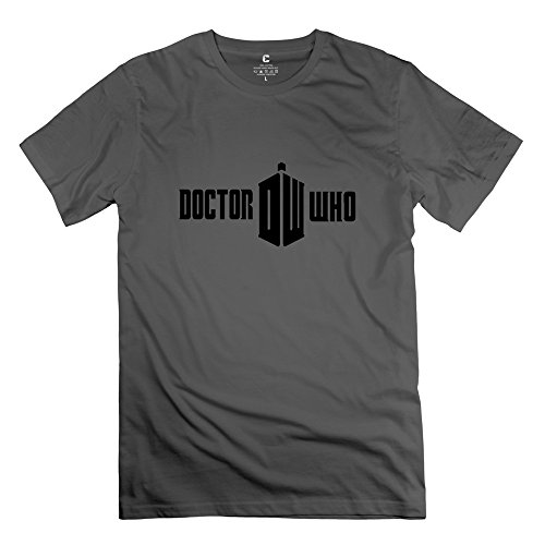 DeepHeather Dr Who Short Sleeve T Shirt For Men Size XL