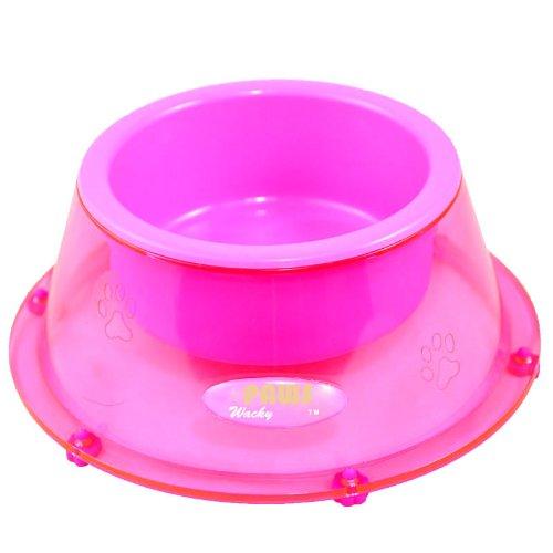 Wacky Paws Pet Bowl, Small, Pink, My Pet Supplies