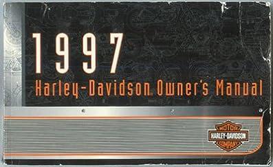harley davidson owner s manual 1997 harley davidson amazon com books rh amazon com 1997 Sportster Harley-Davidson Model 1200 Black 1997 Harley-Davidson Sportster 1200