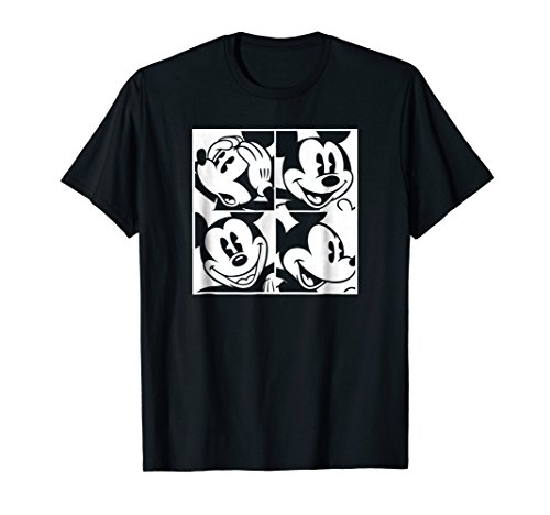 Disney Mickey Mouse Four Squares T-shirt -