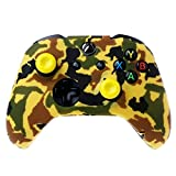 Binmer(TM) Silicone Sleeve Camouflage Handle Rubber Skin Case Gel Protective Cover + Rocker