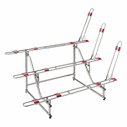 Minoura Ebs-3 Had Tier 3-Bike Display Stand, Grey by Minoura